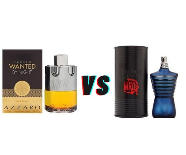 Azzaro Wanted By Night Vs Ultra Male